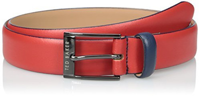 qoo10 ted baker mens colored leather belt bags shoes