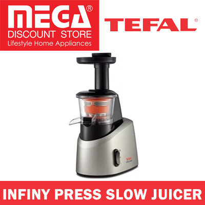 Top 10 Slow Press Juicers : Qoo10 - TEFAL ZC255B65 INFINY PRESS SLOW JUICER / LOCAL WARRANTY : Home Electronics