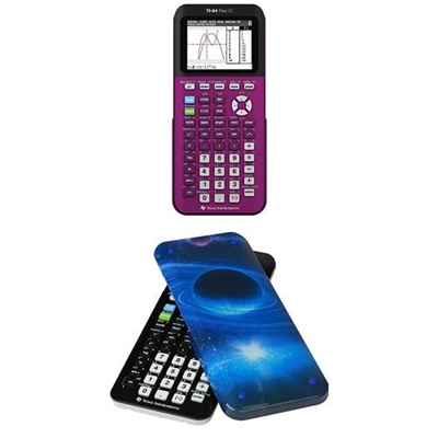Qoo10 - Texas Instruments TI-84 Plus CE Graphing Calculator With Guerrilla Har... : Stationery ...