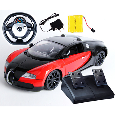 qoo10 the bugatti veyron 1 10 remote control car model wheel suspension grav toys. Black Bedroom Furniture Sets. Home Design Ideas