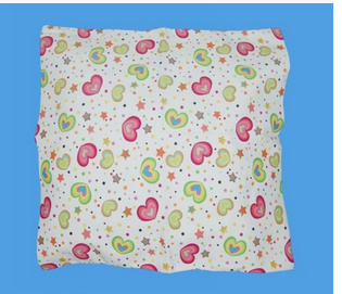 FLANNELETTE HOUSE WIFE PILLOW CASE PAIRS MULTI COLOURS IVORY BLUE PINK BEIGE