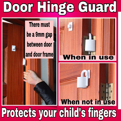 Qoo10 Thingswelove Baby Child Safety Door Hinge Guard