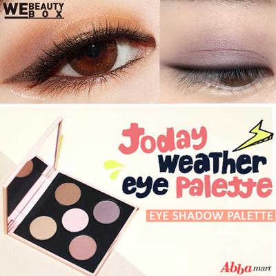 Qoo10 - Today weather eye palette set ★ 5color / Eye shadow set ...
