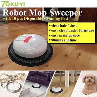 Qoo10 Tokuyi Robot Mop Sweeper Carpet Floor Cleaning