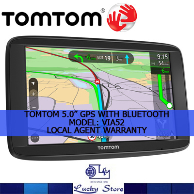qoo10 tomtom car navigation gps system via 52. Black Bedroom Furniture Sets. Home Design Ideas