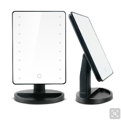 qoo10 top quality touch screen led lighted vanity cosmetic mirror lighted ma cosmetics. Black Bedroom Furniture Sets. Home Design Ideas