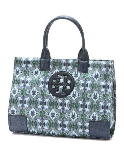 Qoo10 - TORY BURCH (Tory Burch) bag Cotton × polyurethane logo design ...