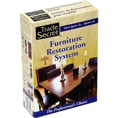 Trade secret furniture restoration system 8 piece kit