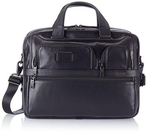 Black Retail $450 Jack Spade Pebbled Leather Computer Field Messenger Bag