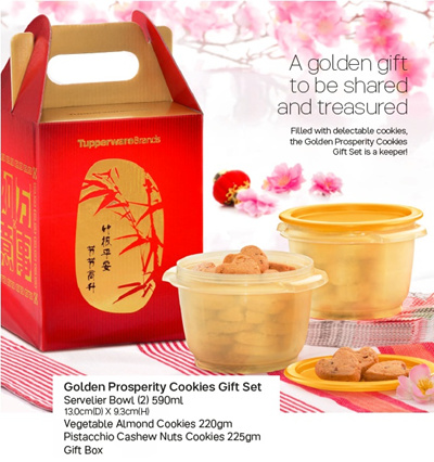 Qoo10 Tupperware 2017 Chinese New Year Cookies Gift Set More