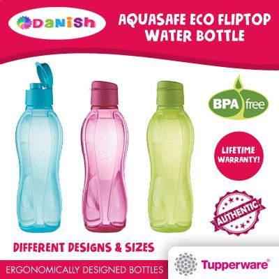qoo10 authentic tupperware aquasafe eco fliptop water bottle bpa free g kitchen dining. Black Bedroom Furniture Sets. Home Design Ideas