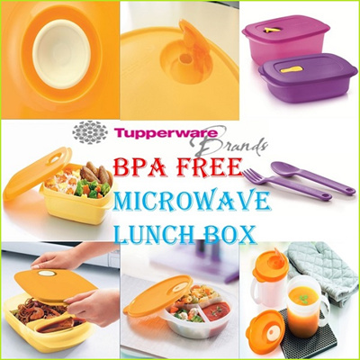 qoo10 authentic tupperware microwave lunch box bpa free lifetime warra kitchen dining. Black Bedroom Furniture Sets. Home Design Ideas