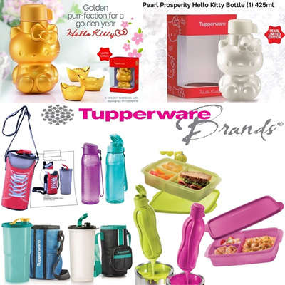 qoo10 authentic tupperware water bottle tumbler bpa free lifetime kitchen dining. Black Bedroom Furniture Sets. Home Design Ideas