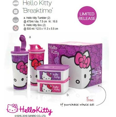 Qoo10 - *Clearance Sales* Tupperware Hello Kitty Breaktime ...
