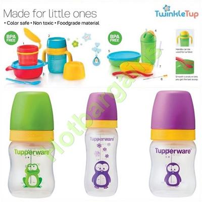 qoo10 tupperware baby kids feeding set twinkle set bpa free non to baby maternity. Black Bedroom Furniture Sets. Home Design Ideas