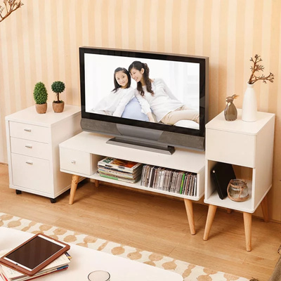 Qoo10 Tv Console Coffee Table Storage Table Bedside Table Living Room Chai Furniture Deco