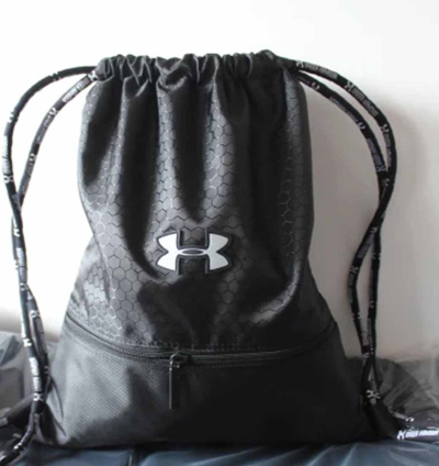 Qoo10 - UNDER ARMOUR Waterproof Drawstring Bag/Backpack/Sports Bag ...