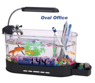 Qoo10 usb desktop aquarium mini fish tank with running for Usb fish tank