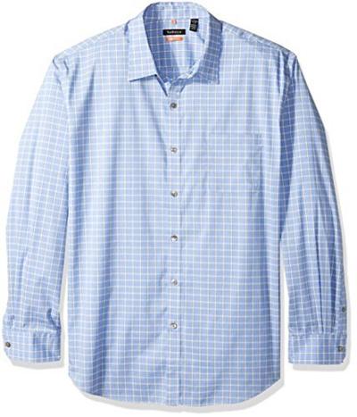 Qoo10 van heusen mens traveler stretch non iron long for Van heusen iron free shirts