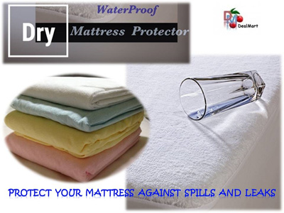 waterproof mattress protector waterproof bedsheet fitted all sizes dealmart