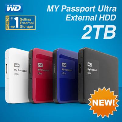 qoo10 wd 2tb my passport ultra portable external hard drive new elements tra computer game. Black Bedroom Furniture Sets. Home Design Ideas