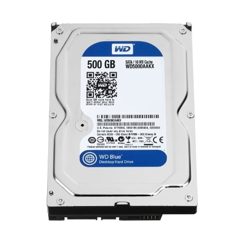 Western Digital Green SATA III WD 5000 AUDX 500GB 7200RPM 32MB