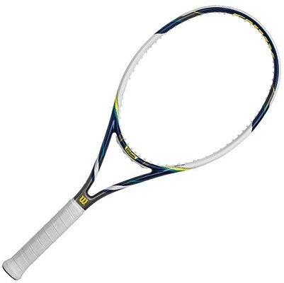 HEAD Ti.Conquest Pre-Strung Tennis Racquet bundled with a Core Tennis Bag or Bac