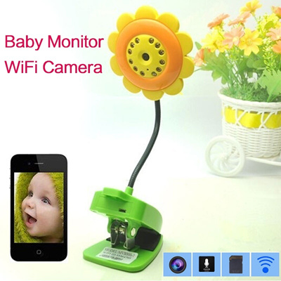 qoo10 wireless digital baby monitor camera android audio video night vision household bedding. Black Bedroom Furniture Sets. Home Design Ideas