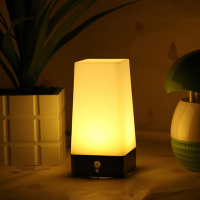Motion sensor bedroom light