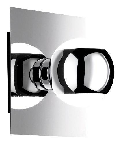 3 x Paulmann Einbauleuchte Set Quality Quadro Chrom 3x 20W GU5,3 12V Halogen