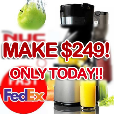 Qoo10 - [ X-mas / MAKE $274 - $25 = $249!! ] NUC(Kuvings) Whole Slow Juicer Ex... : Home Electronics
