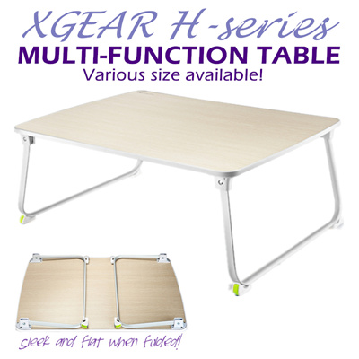 Qoo10 xgear h series foldable multi function table for Deco table multicolore