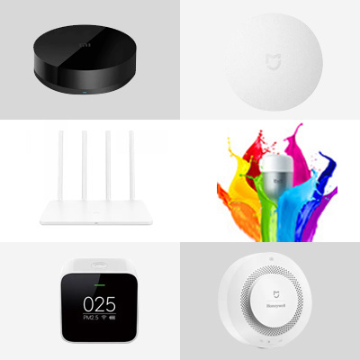 qoo10 xiao us smart home set affordable products smart security system furniture deco. Black Bedroom Furniture Sets. Home Design Ideas