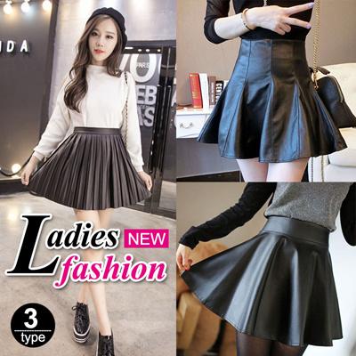 Qoo10 - XM162 Ladies skirts / PU short Skirt / A style /mini Skirt ...