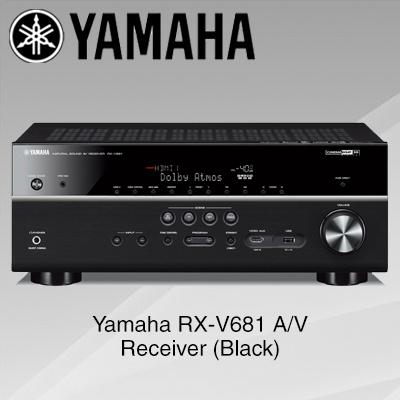 Qoo10 yamaha rx v681 a v receiver black tv camera for Yamaha tv receiver
