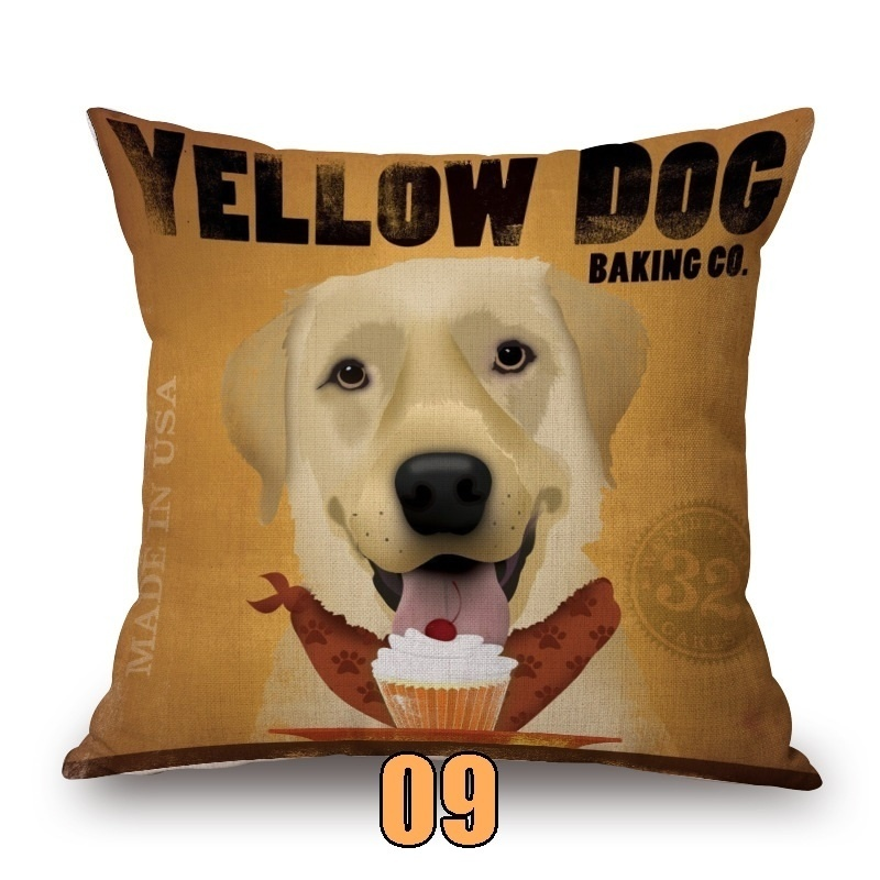 Out Sign Suction Cup 7x5 Breed Yellow Lab Don/'t Let the