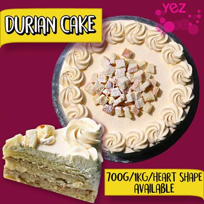 Yez Durian Cake Review