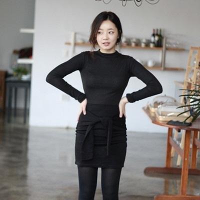 【YOOMAY】爽やか韓国系ファッションカジュアル♪ 女性基本人気コットンTシャツ