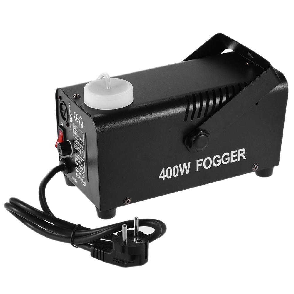 how to make a fog machine work without remote