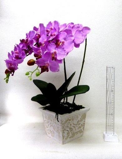 ●代引き不可送料無料造花造花胡蝶蘭触媒加工触媒済み92176の画像
