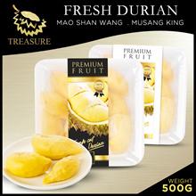 FREE ABALONE!! *FRESH DURIAN* PREMIUM MAOSHAN WANG MUSANG KING 500G | DELIVERY !!