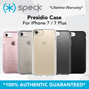 SPECK ORIGINAL SINGAPORE iPhone 7 / 7 Plus / 6S / 6S Plus Case With FREE GIFTS! LIFETIME WARRANTY!