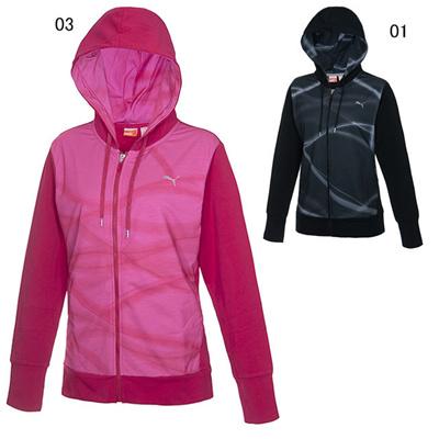 プーマ (PUMA) レディース スウェットジャケット 512583 [分類:エクササイズ・フィットネス ジャケット・シャツ (レディース)]の画像