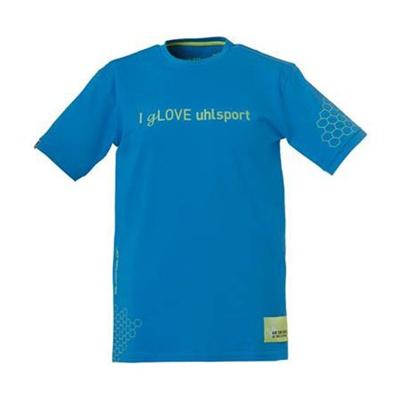 ウールシュポルト(uhlsport) I GLOVEシャツ 1002115 シアン/FYL/BLK 【サッカー ゴールキーパーウェア】の画像