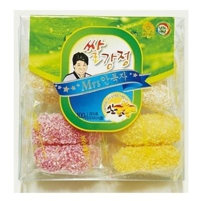 ■韓国のお菓子■米カンジョン(100g)■の画像