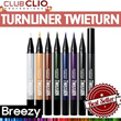BREEZY ★ [Clio] Waterpoof Turnliner Twisturn
