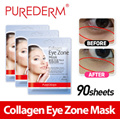 Aile ♥ [Purederm] Collagen Eye zone mask 30x3 sheets! Free Delivery / Special care for eye rims / Reduce eye Puffiness