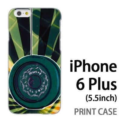 iPhone6 Plus (5.5インチ) 用『No1 Y_ヨーヨー 緑』特殊印刷ケース【 iphone6 plus iphone アイフォン アイフォン6 プラス au docomo softbank Apple ケース プリント カバー スマホケース スマホカバー 】の画像