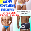 Brand New 2016 Cooling/Great/Comfortable/Sexy/Fashionable Men Underwear/Boxer/Brief/Pants/Shorts/Swimwear Cheap/Affordable