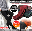 【BUY 3 GET 1/Free Shiping】Fast Delivery! Special Price for $5.9!Winter Leggings travel/innerwear/ Plus size Thermal wear/-20 degree keep warm /Women pants/Leather Leggings/Korean style[S-3XL]
